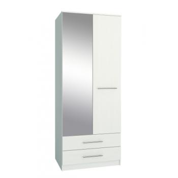 Шкаф двухдверный  Классика-23 с зеркалом.