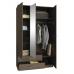 Шкаф трёхдверный  Классика-53 с зеркалом